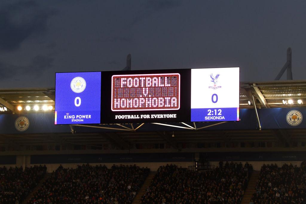 ¿De qué trata la campaña del Leicester contra la homofobia en el futbol?