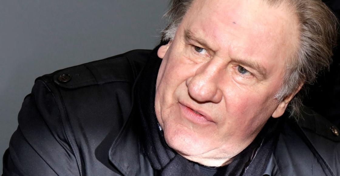 Presentan cargos contra el actor Gérard Depardieu por violación