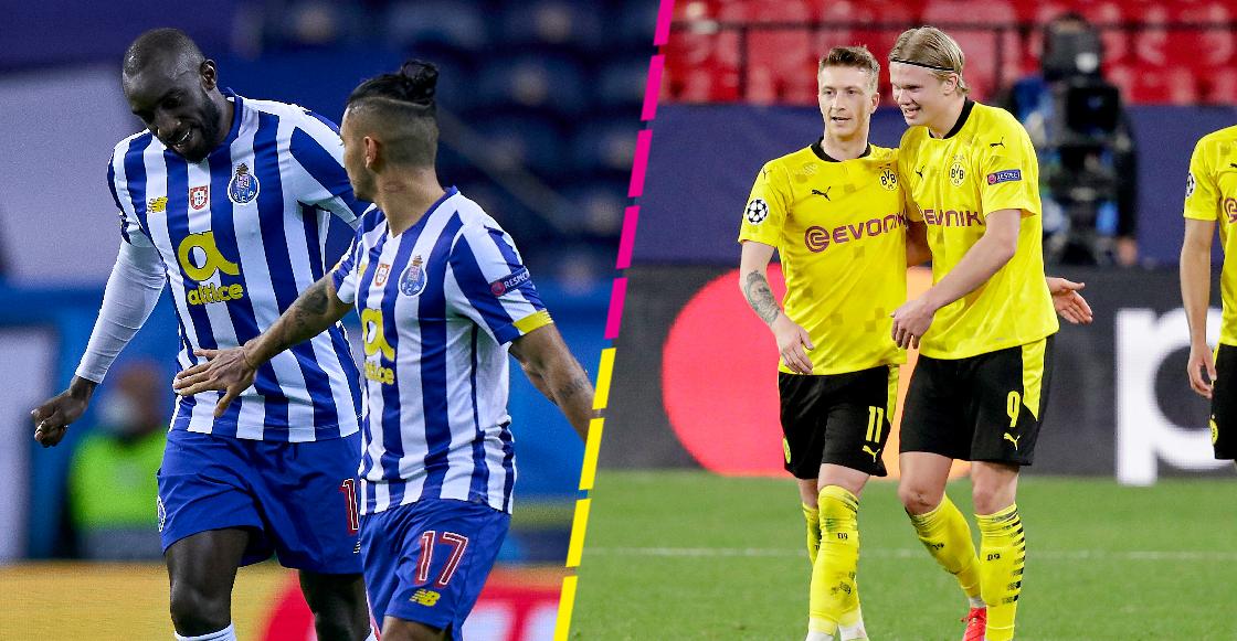 ¡'Tecatito' venció a la Juve! Aquí están todos los goles de los triunfos del Porto y Borussia Dortmund