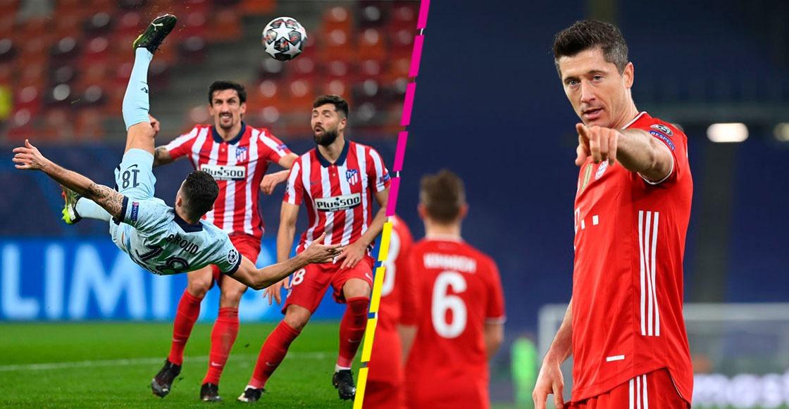 Chilena de Giroud para vencer al Bayern: Los goles que nos dejó la Champions League