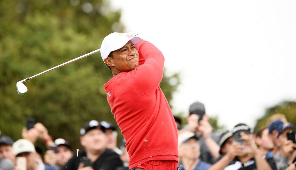 ¡Tiger Sunday! Así fue el homenaje de la PGA y la LPGA a Tiger Woods
