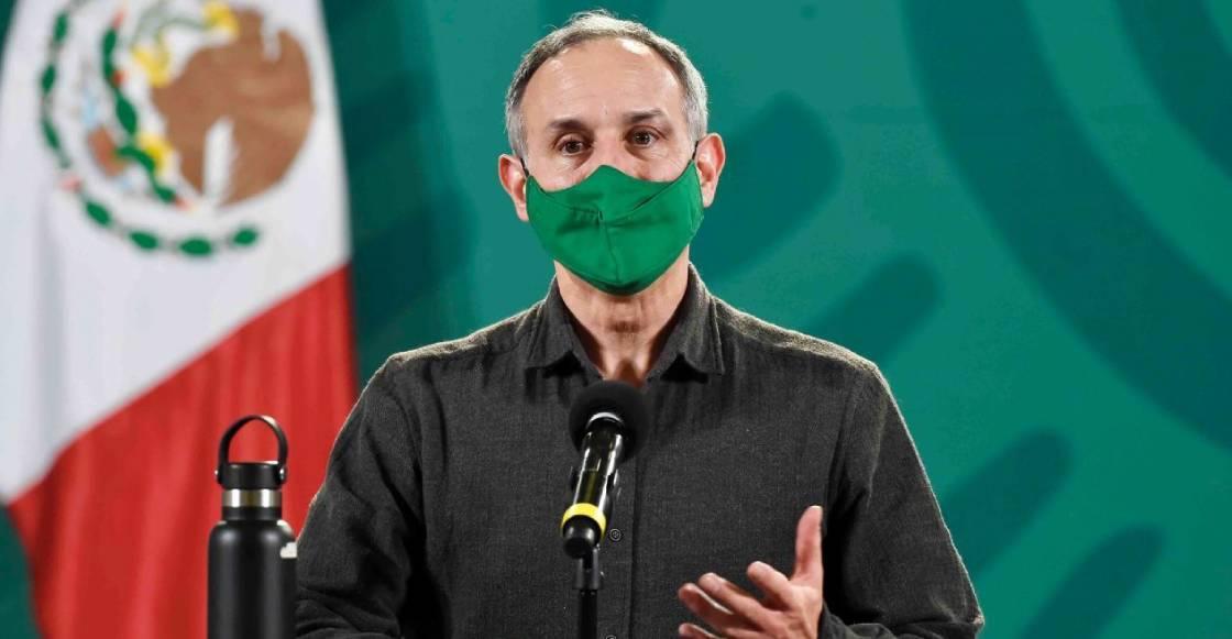 López-Gatell fue hospitalizado de manera preventiva