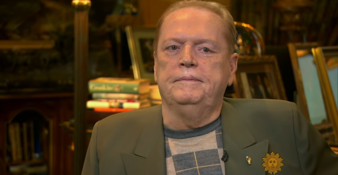 Murió a los 78 años Larry Flynt, fundador de la revista Hustler y magnate porno