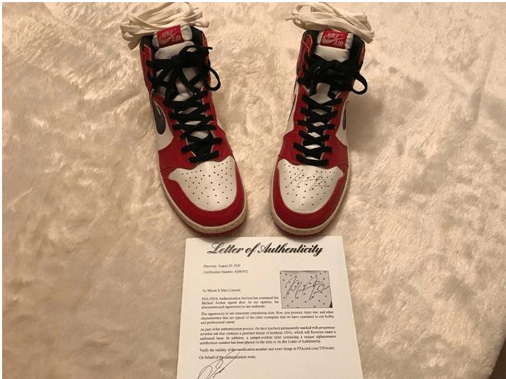 Michael Jorndan tenis millón de dólares ebay