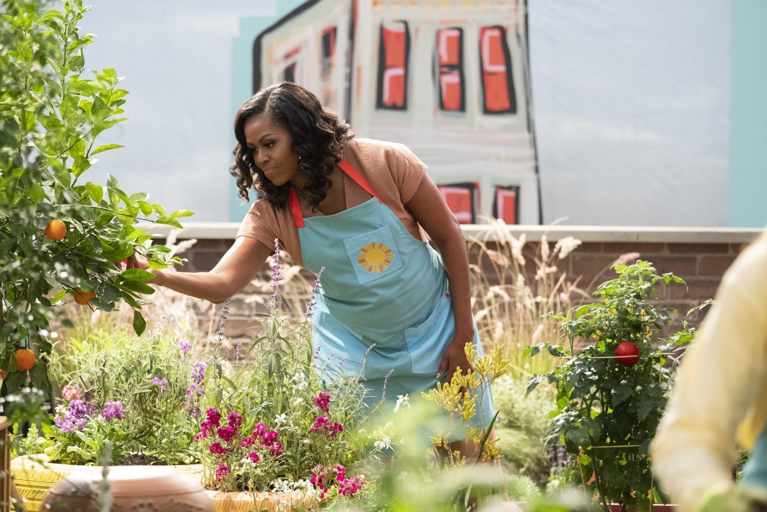 Checa las primeras imágenes de 'Waffles y Mochi', la serie infantil de Michelle Obama en Netflix