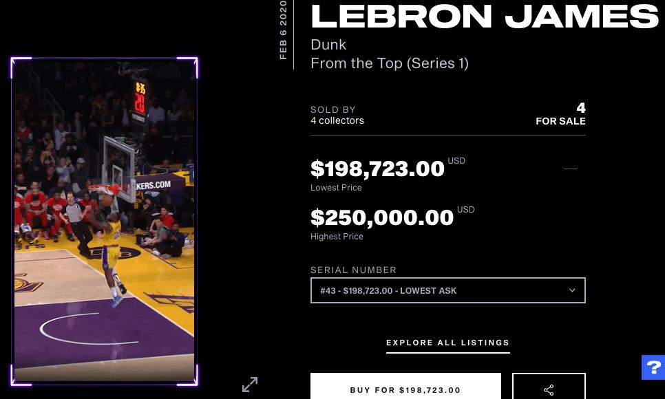 ¿Cómo funciona NBA Top Shot y cómo se comercializan sus tarjetas virtuales?