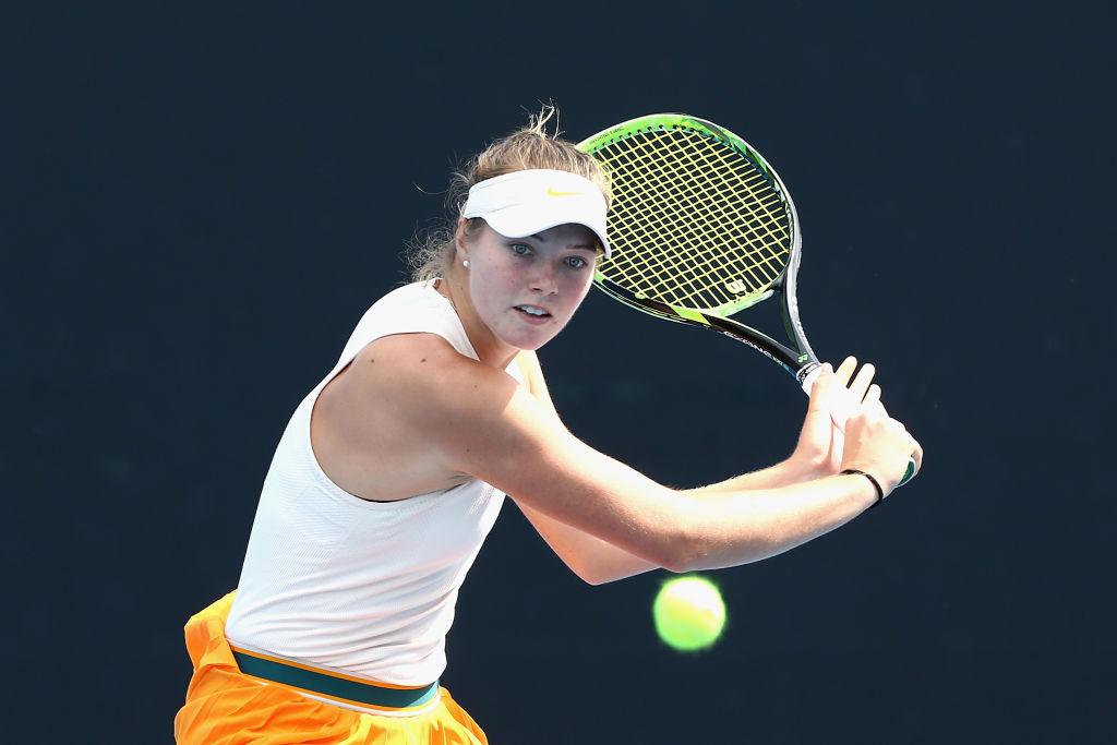Olivia Gadecki, la joven que eliminó a Sofia Kenin del Phillip Island Trophy