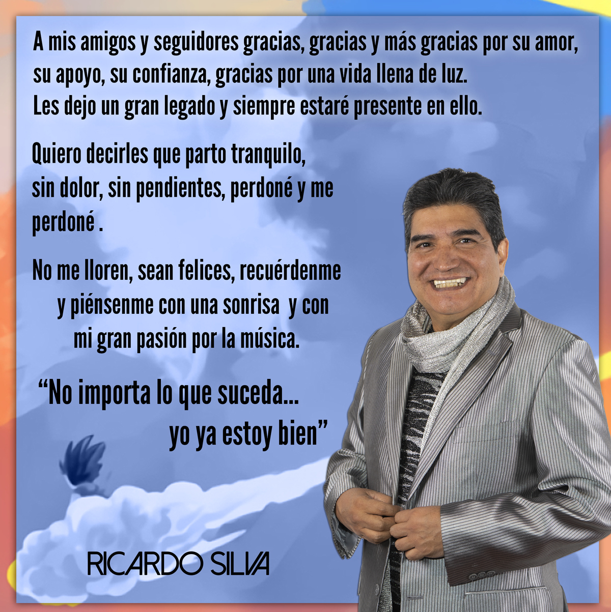 ricardo Silva mensaje