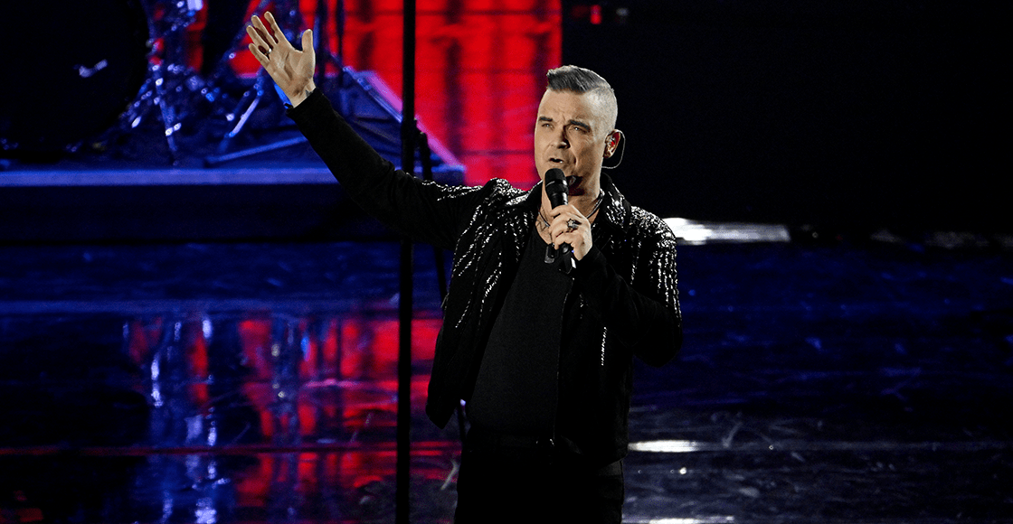Robbie Williams tendrá su propia película biográfica