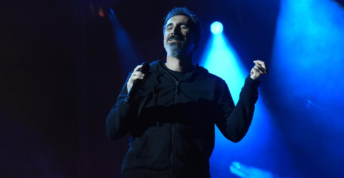 Serj Tankian de System of a Down anuncia un EP lanzando una estresante rola