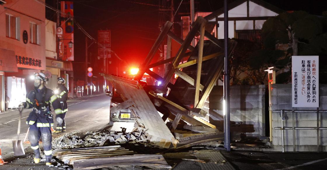 Las fotos y videos que dejó el sismo de 7.1 grados que sacudió Japón