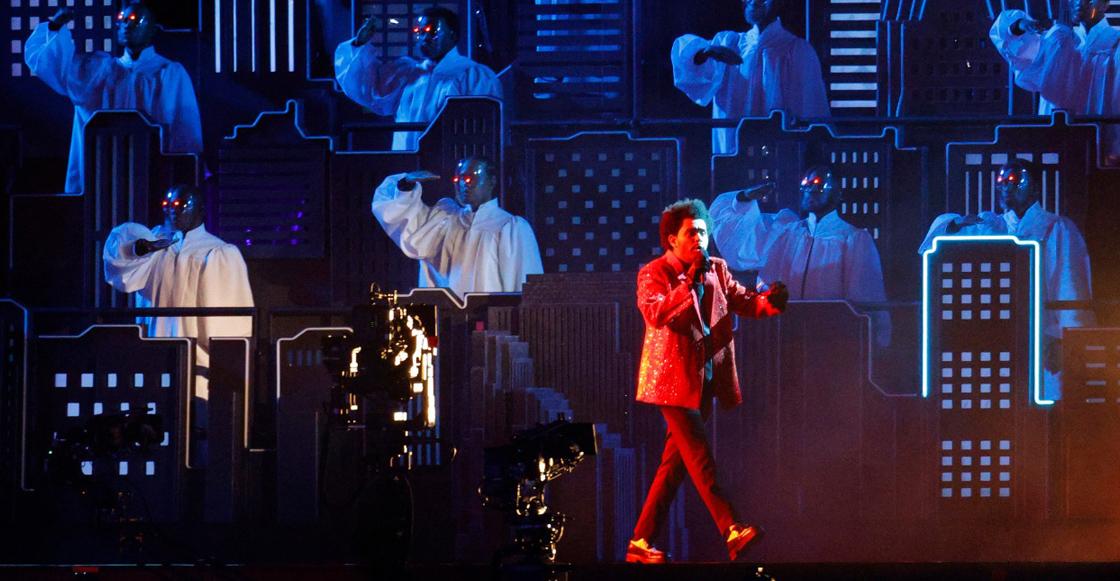 Revive el show de medio tiempo de The Weeknd en el Super Bowl LV