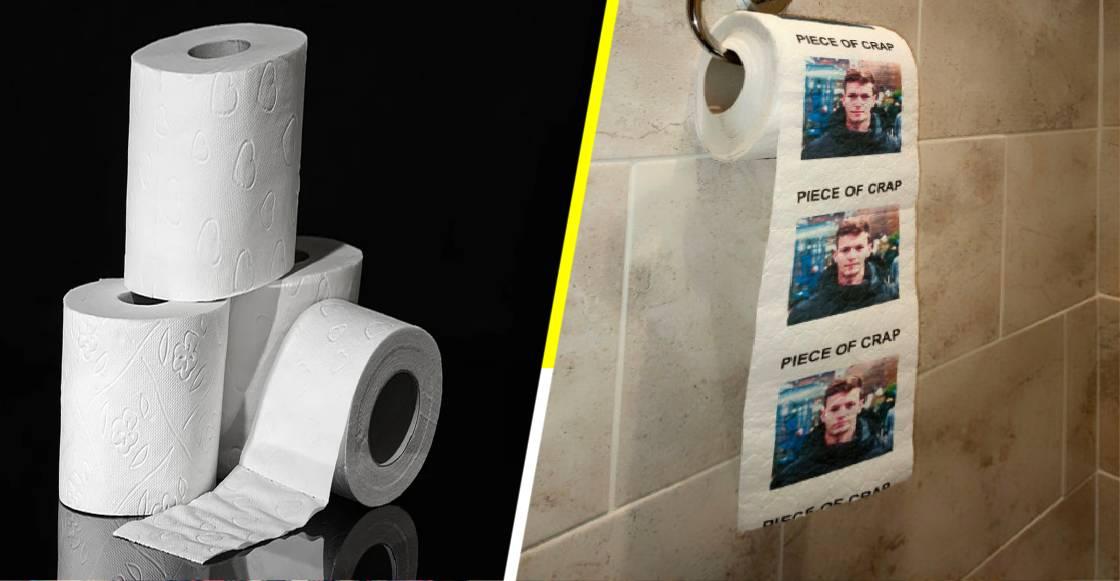 'Toilet Face': El papel higiénico con la cara de tu ex impresa