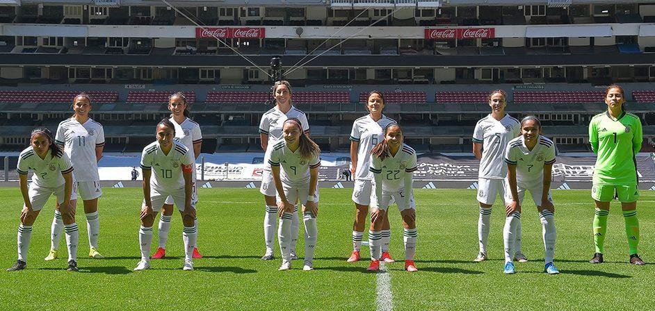 ¡Día histórico! Revive los goles del Tri Femenil en su regreso al Estadio Azteca