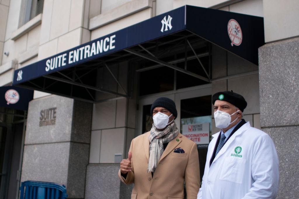 En imágenes: Yankee Stadium se transforma en centro de vacunación