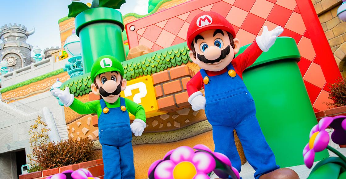 ¡Nerdgasmo! 36 imágenes de la inauguración de Super Nintendo World en Japón