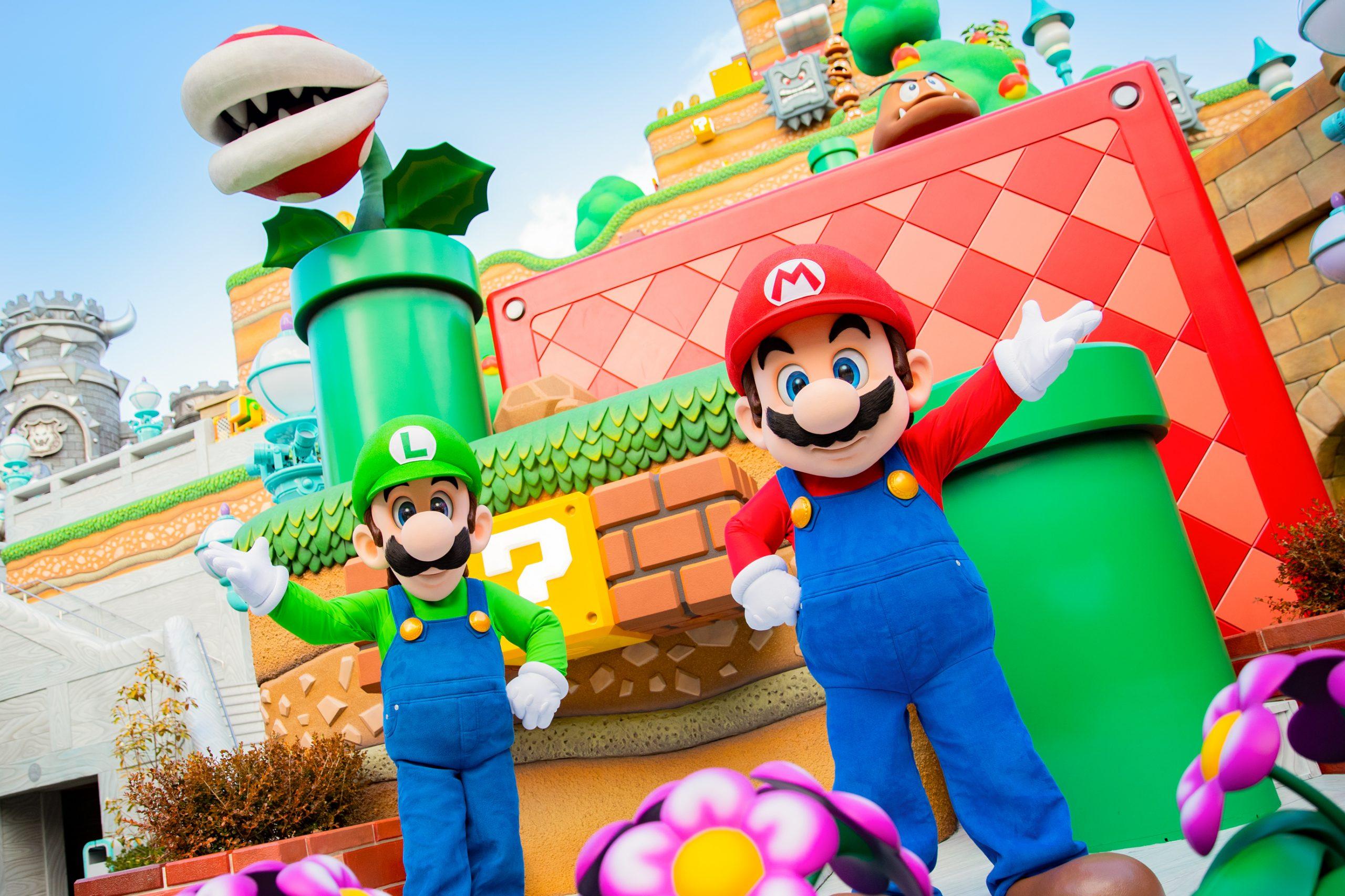 Así luce el nuevo parque de Super Nintendo World