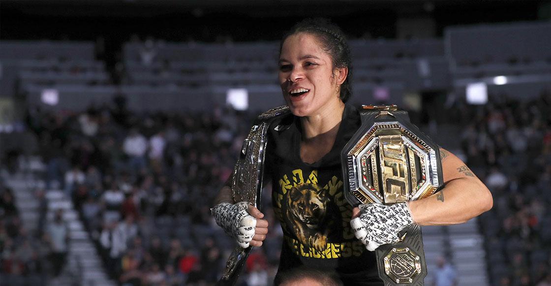 Amanda Nunes campeona de 2 divisiones UFC