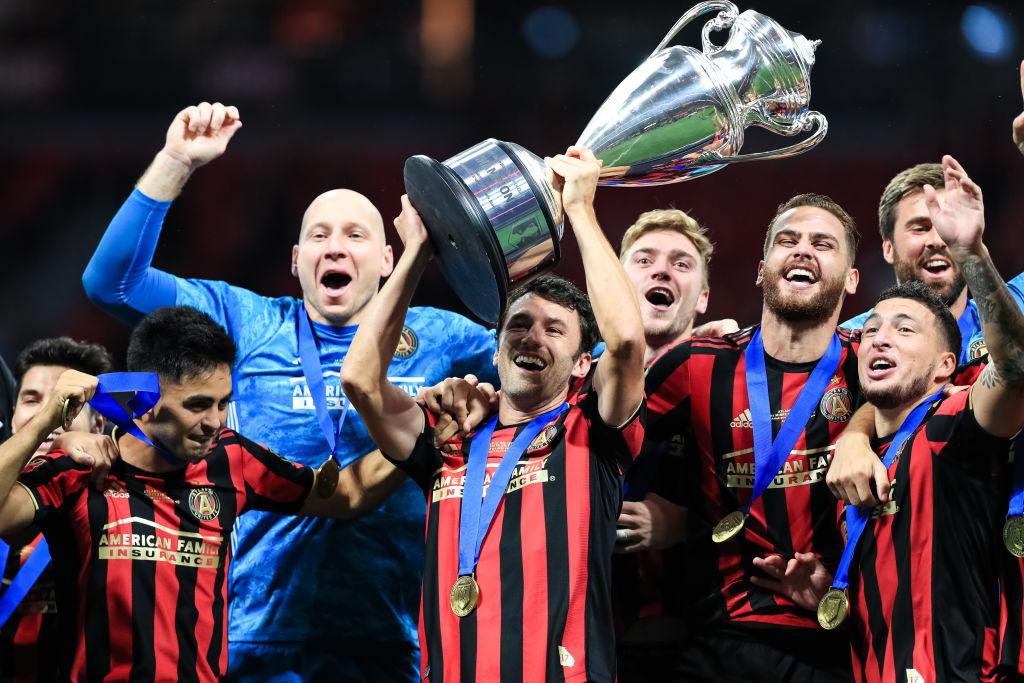 Atlanta United celebra el título del Campeones Cup