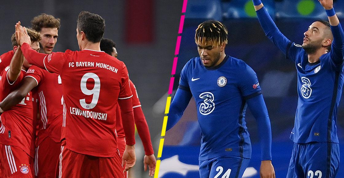 Bayern y Chelsea avanzan a cuartos de final