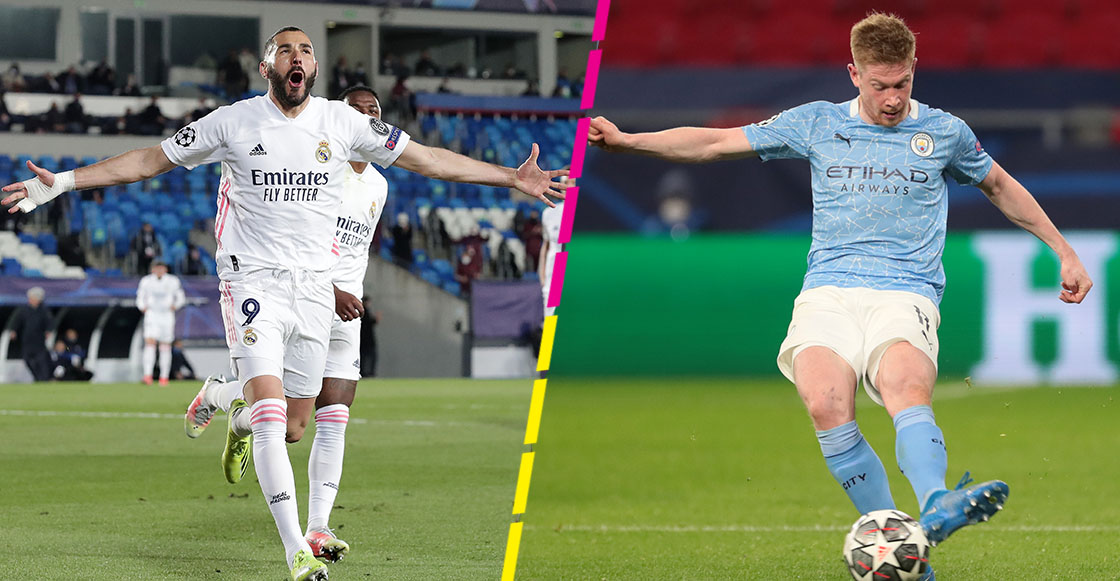 Los goles con los que Real Madrid y Manchester City se instalan en Cuartos de la Champions