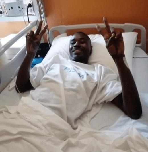 Charles Bulu, árbitro que se desmayó durante el Costa de Marfil vs Etiopia