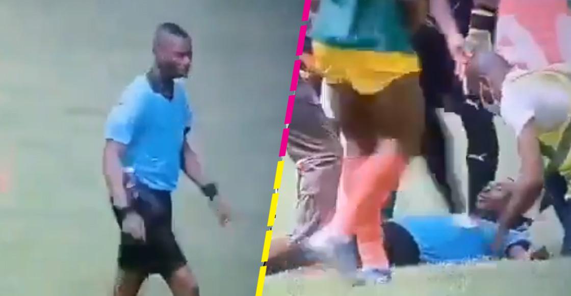 Árbitro sufre desmayo a mitad de un partido clasificatorio para la Copa Africana de Naciones