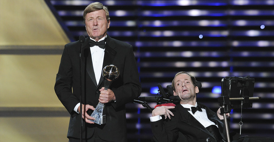 Dick y Rick Hoyt en 2013