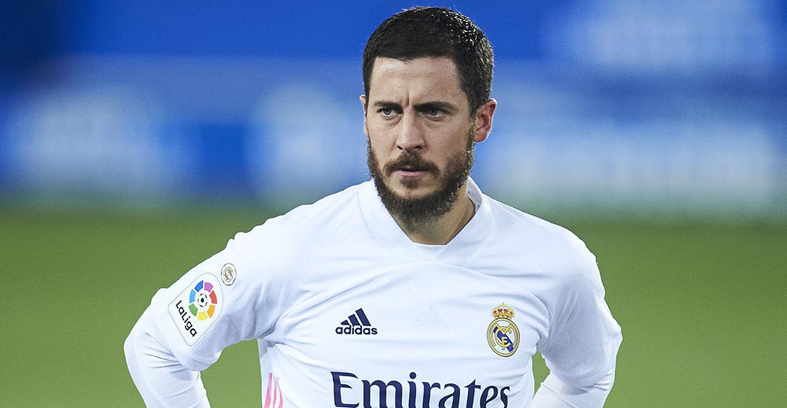 Eden Hazard y las lesiones en el Real Madrid