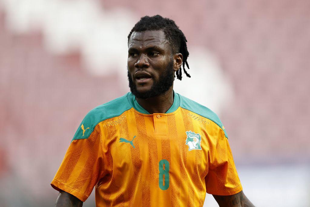 Franck Kessie mediocampista de Costa de Marfilac