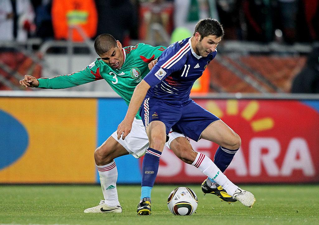 Gignac vs México en Sudáfrica 2010