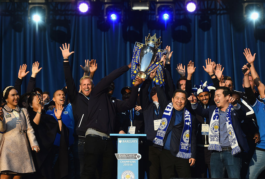Leicester City Campeones de la Premier League 2016