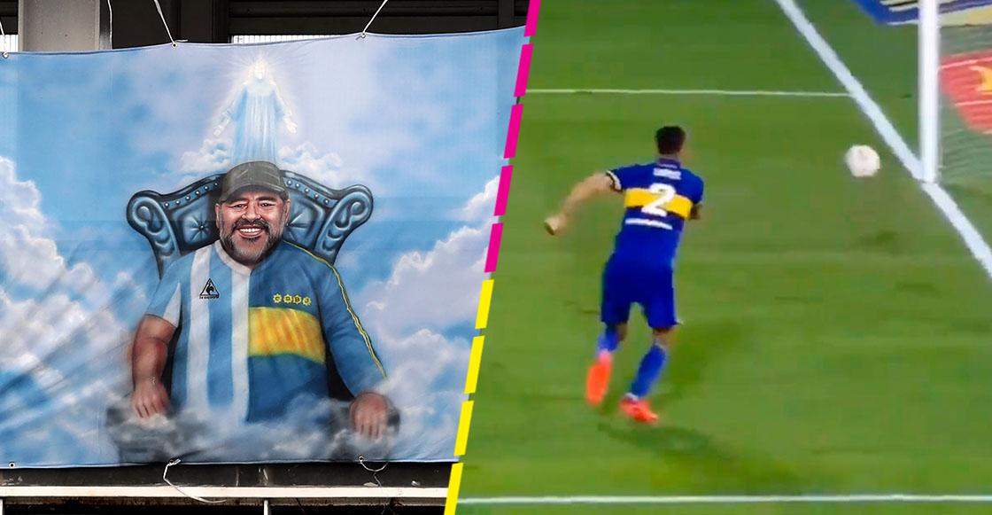 Superclásico Boca Juniors vs River Plate con insólita jugada