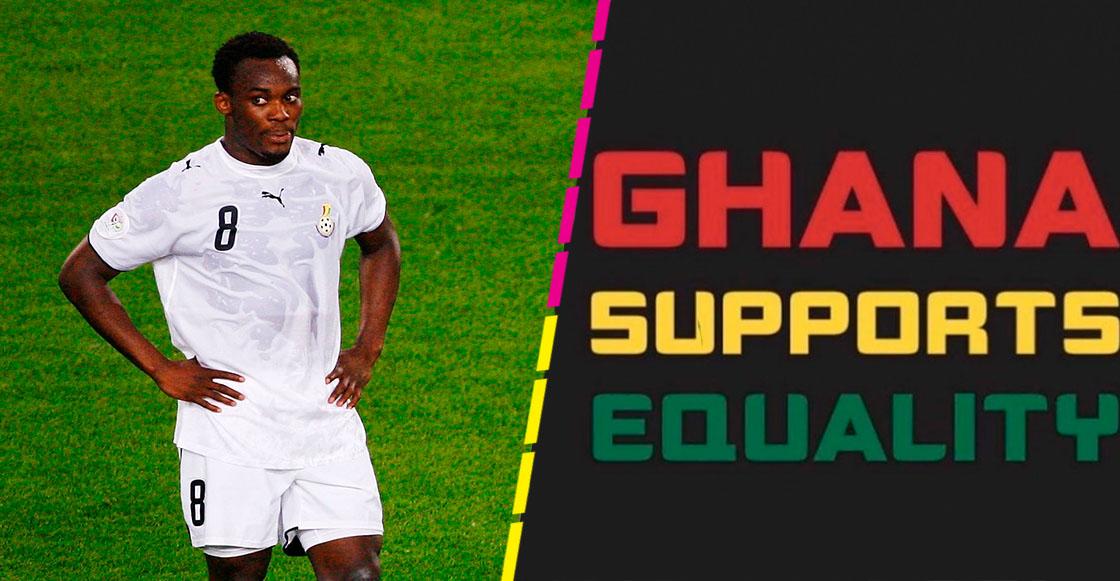 Michael Essien críticado en Ghana por apoyar a la comunidad LGBT