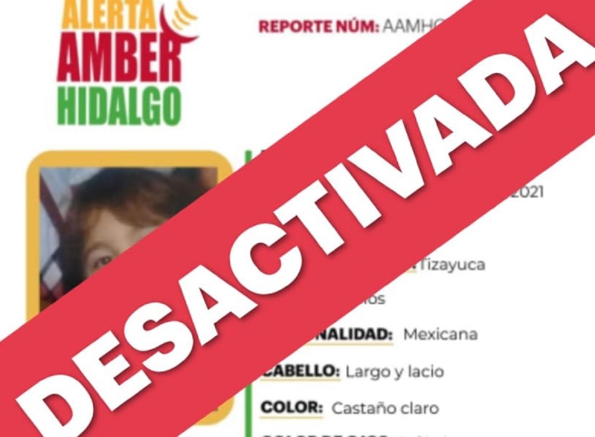 Nicole desaparecida en Hidalgo