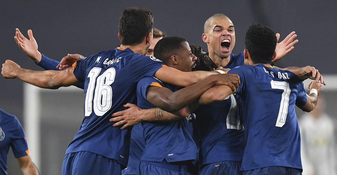 Porto elimina a la Juventus