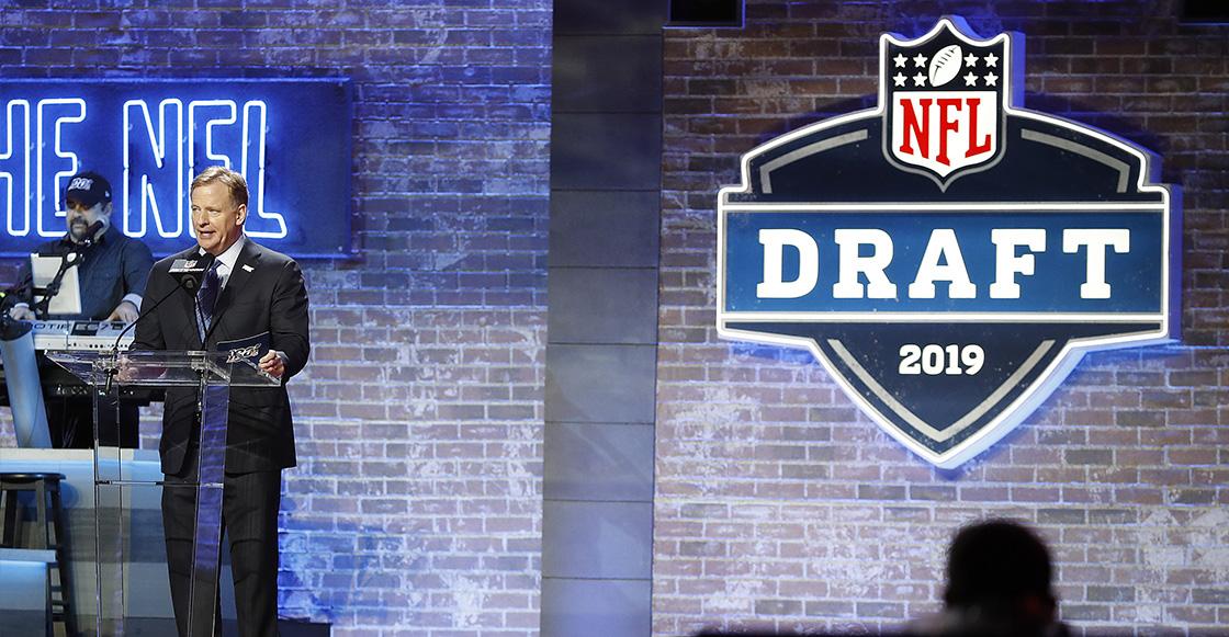 Roger Goodell en el Draft 2019