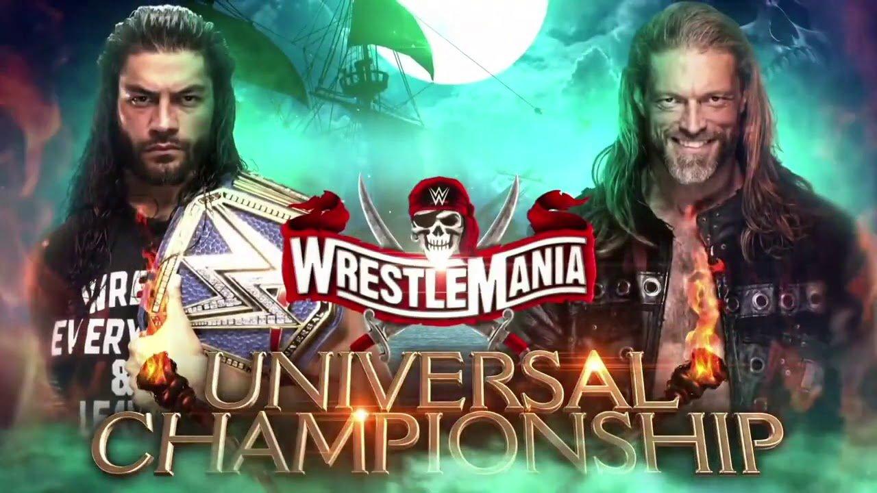 Roman Reings vs Edge en Wrestlemania 37 por el campeonato de WWE