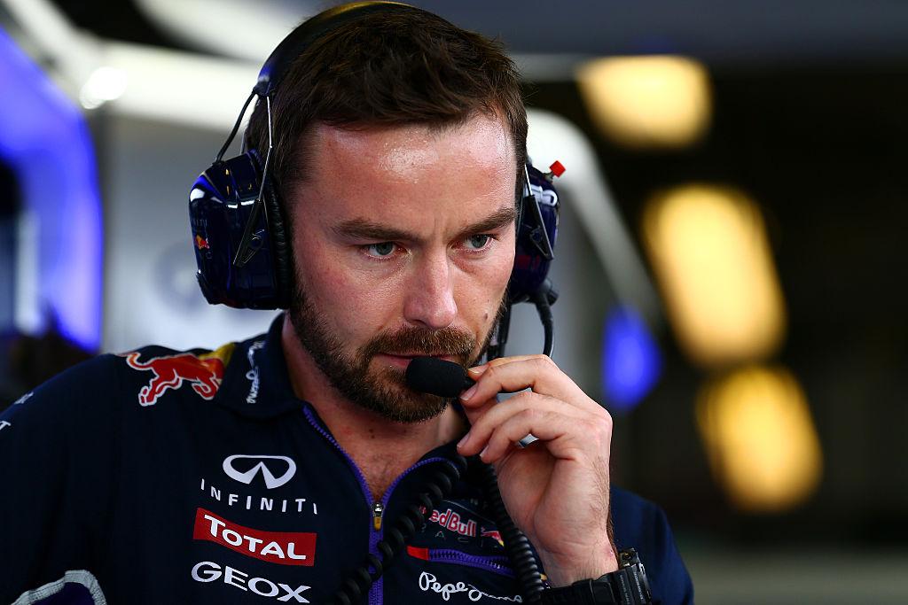 Simon Rennie ingeniero carrera Red Bull