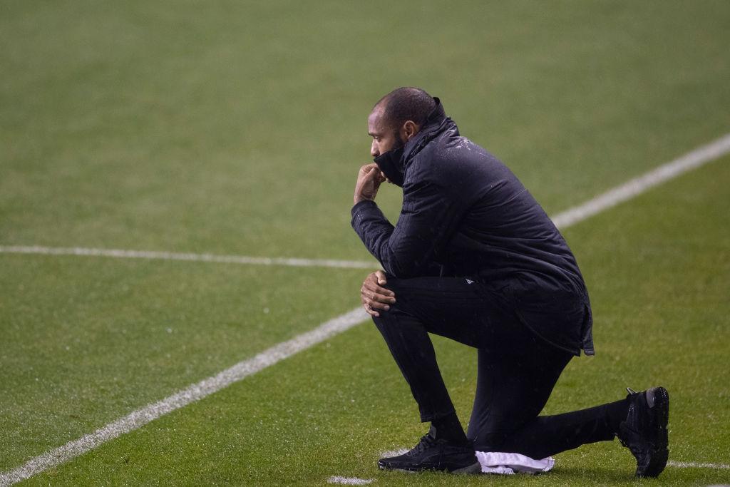 Thierry Henry en su faceta como DT