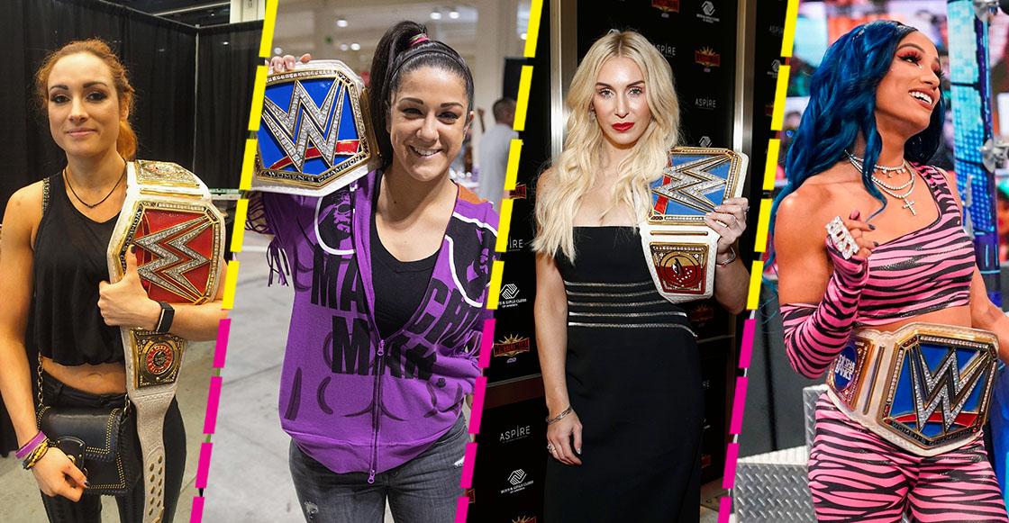 Las 4 mujeres que revolucionaron la lucha libre en WWE