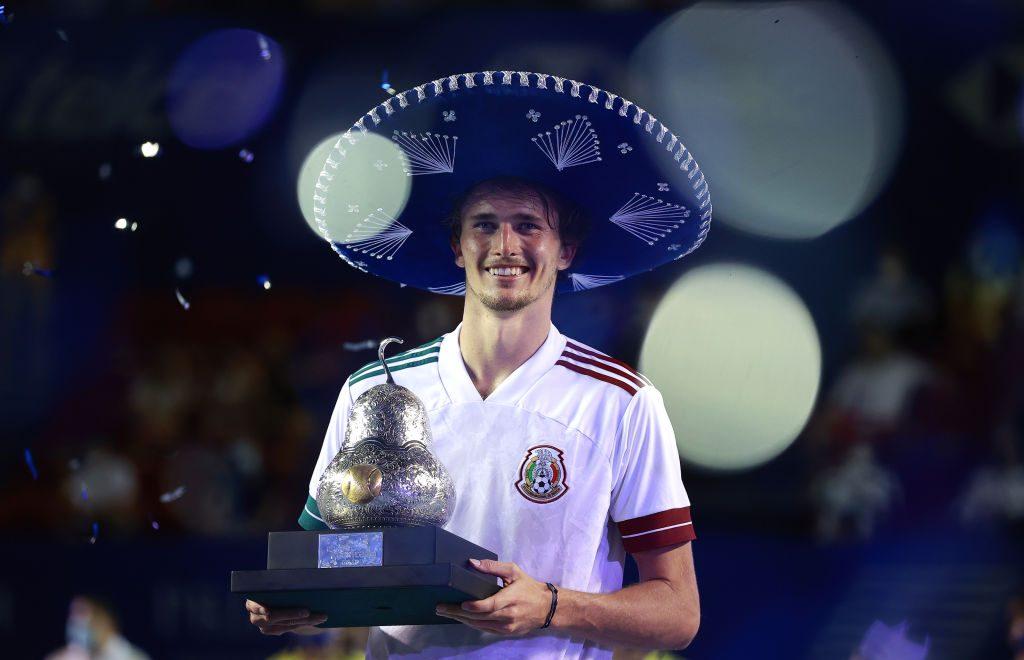 En imágenes: Acapulco despidió a Alexander Zverev como un mexicano más