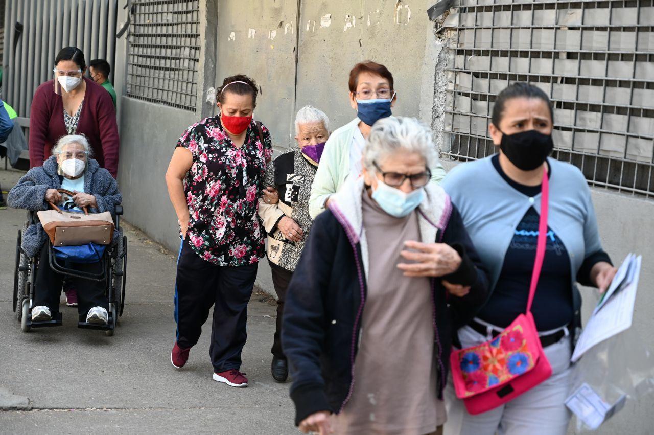 Vacunación en Xochimilco