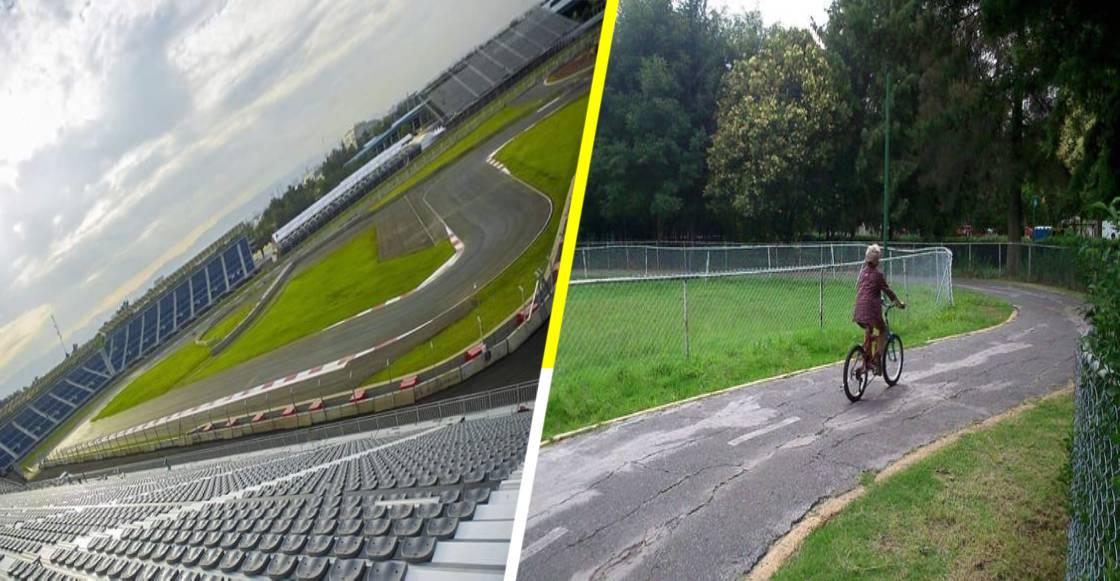 ¡A echar pata! Autódromo Hermanos Rodríguez abre pista para ciclistas y corredores