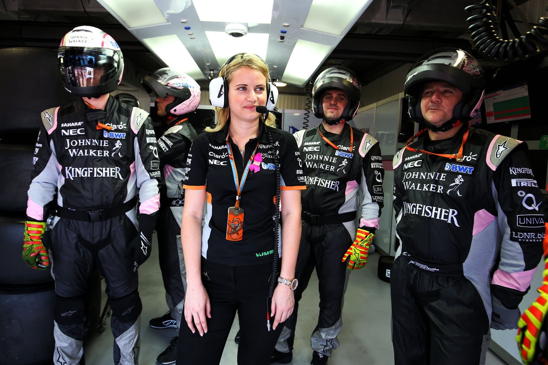 Bernie Collins, la mujer detrás de los triunfos de Checo Pérez en la Fórmula 1