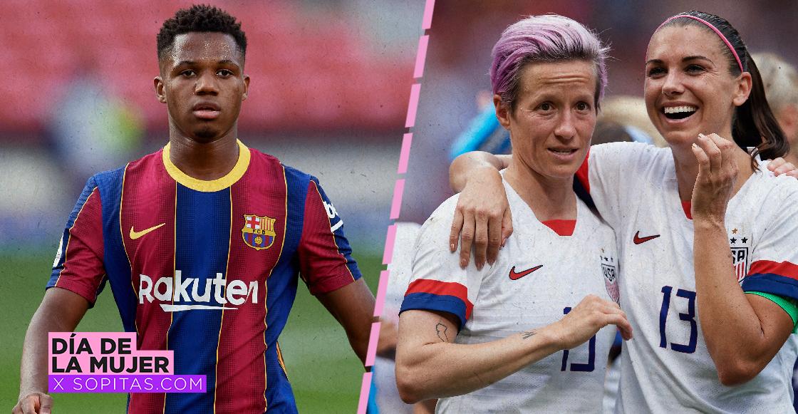 La brecha salarial en el futbol: A los 16 años Ansu Fati ganaba lo mismo que las estrellas femeniles