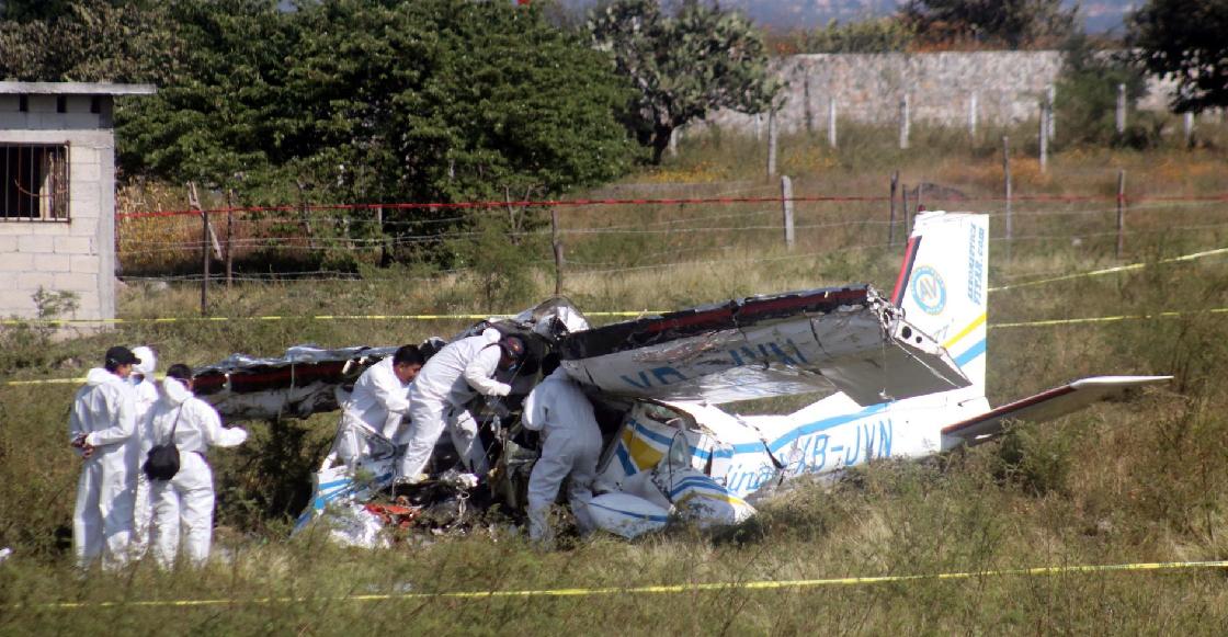 Se desploma avioneta donde viajaba un funcionario de Sonora; hay cuatro muertos