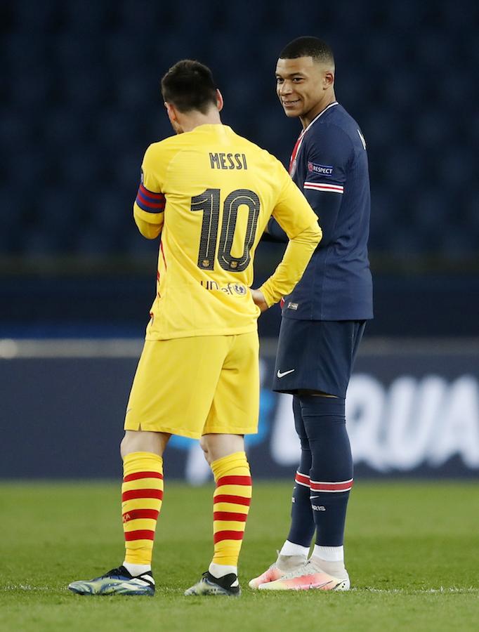 Messi y Cristiano: La Champions confirma el cambio generacional con Mbappé y Haaland