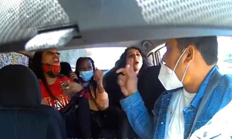 Mujeres agreden a un conductor de Uber por pedirles que usaran cubrebocas