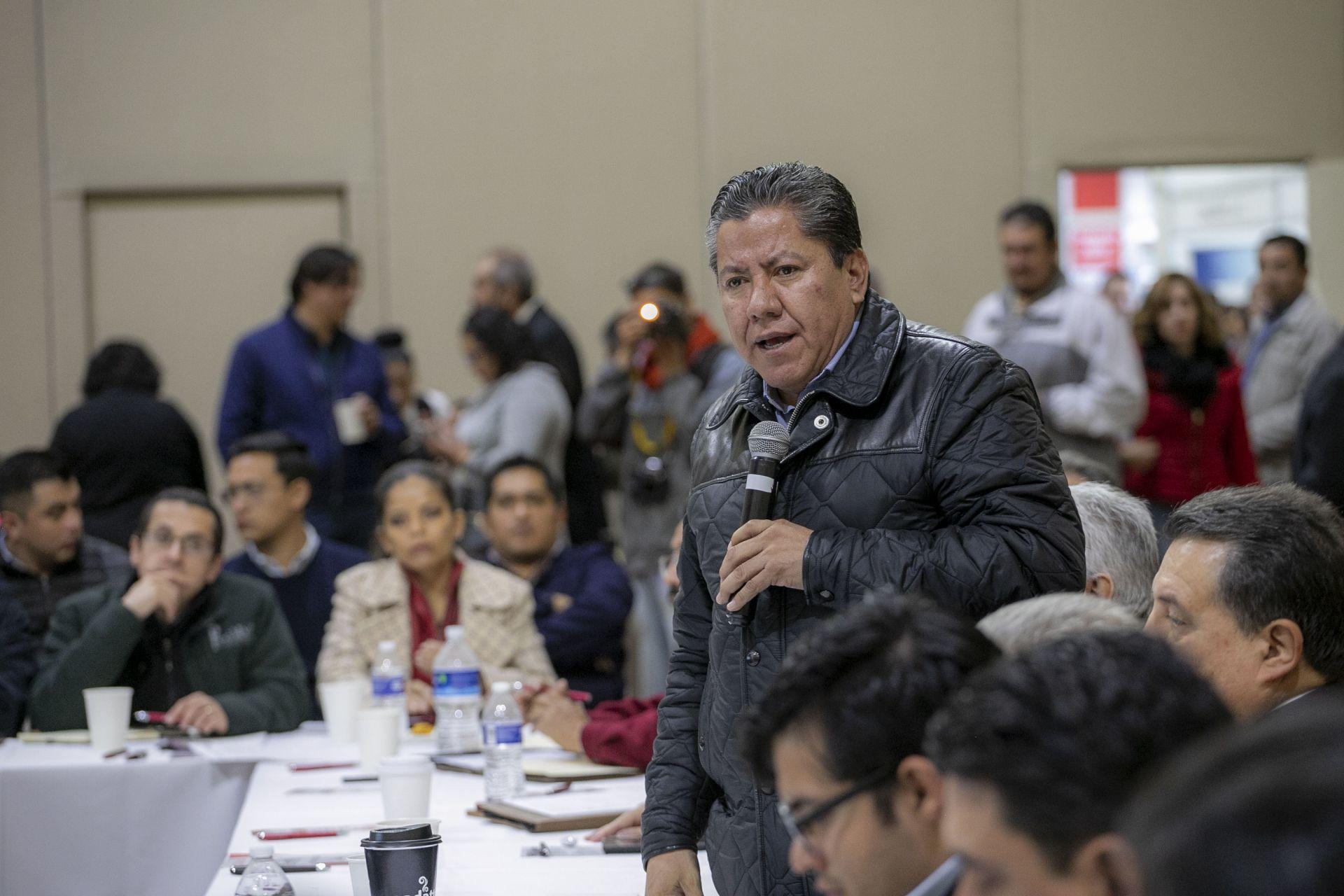Zacatecas, Zacatecas, 15 de enero de 2021.- David Monreal precandidato del partido político MORENA al gobierno del Estado de Zacatecas.